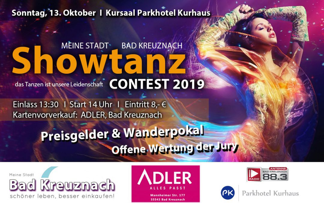 2. MEINE STADT Showtanz Contest 2019